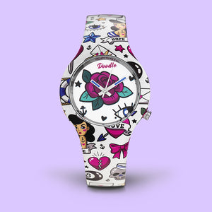 MONTRE DOODLE TATOUAGES VINTAGE DO35001