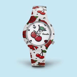 MONTRE DOODLE RETRO ROUGE DO35002