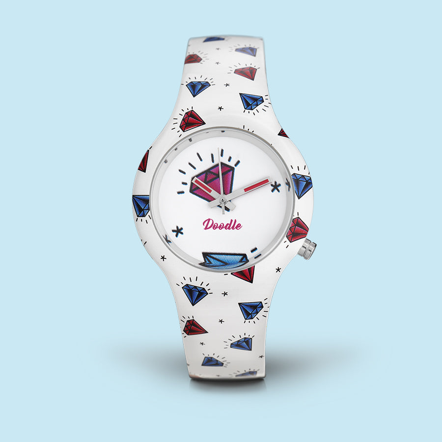 MONTRE DOODLE DIAMANT DO35003