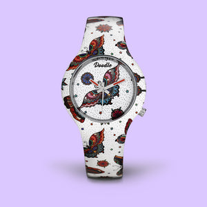 MONTRE DOODLE PAPILLON DO35010