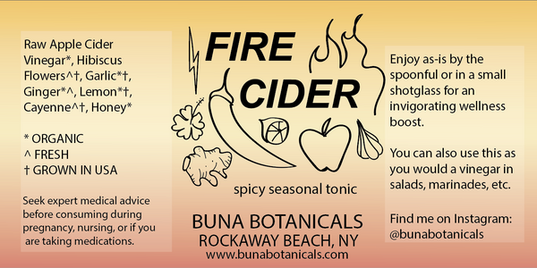FIRE CIDER - SPICY SEASONAL TONIC