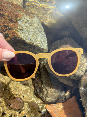 Parafina co x goooders recycled plastic and bamboo sunglasses, sustainable sunglasses