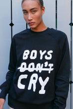 Load image into Gallery viewer, Organic Cotton Boys Don't Cry Sweatshirt
