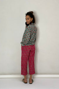 Fair Trade Bouganville Pajamas