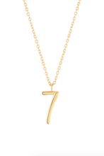 Load image into Gallery viewer, Wonther Number 7 Necklace