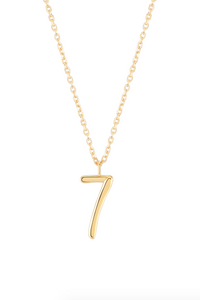 Wonther Number 7 Necklace
