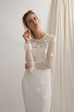 Load image into Gallery viewer, Organic cotton crochet dress