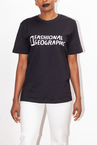 Organic Cotton Fashional Geographic t-shirt