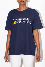 Load image into Gallery viewer, Organic Cotton Fashional Geographic t-shirt