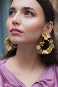 Verbena Jazmin Oro Earrings