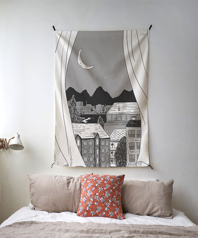 Fake Window | 4 Designs | Tapestry