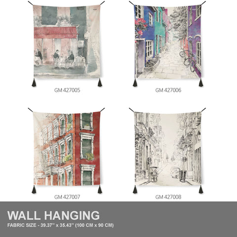 Urban Theme | 4 Designs | Tapestry