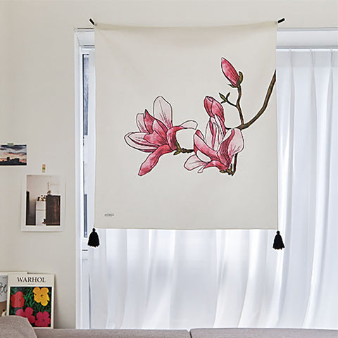 Watercolor Flower | 4 Designs | Tapestry