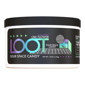 Sour Space Candy - CBD Hemp Flower