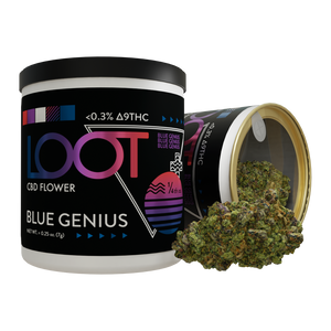 Blue Genius  - CBD Hemp Flower