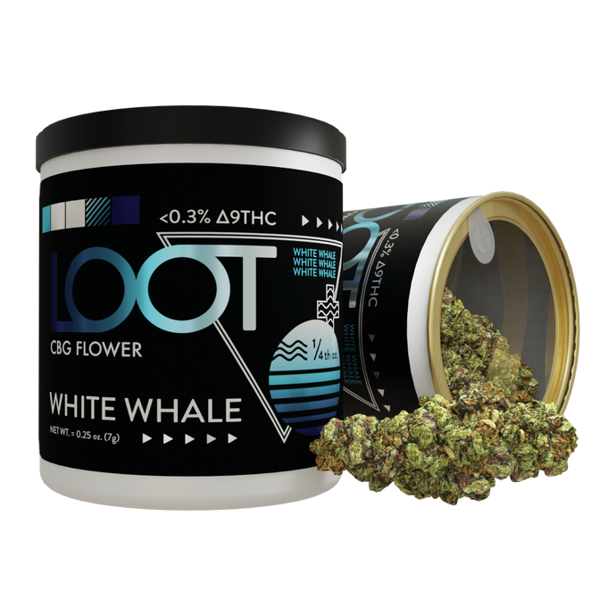 White Whale - CBG Hemp Flower