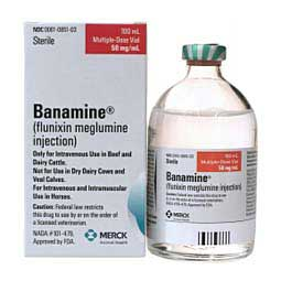 Flunixin Meglumine (Banamine Picture as Reference)