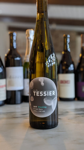Tessier Winery - 2017 Zabala Vineyard (Riesling) - Arroyo Seco, Central Coast, California