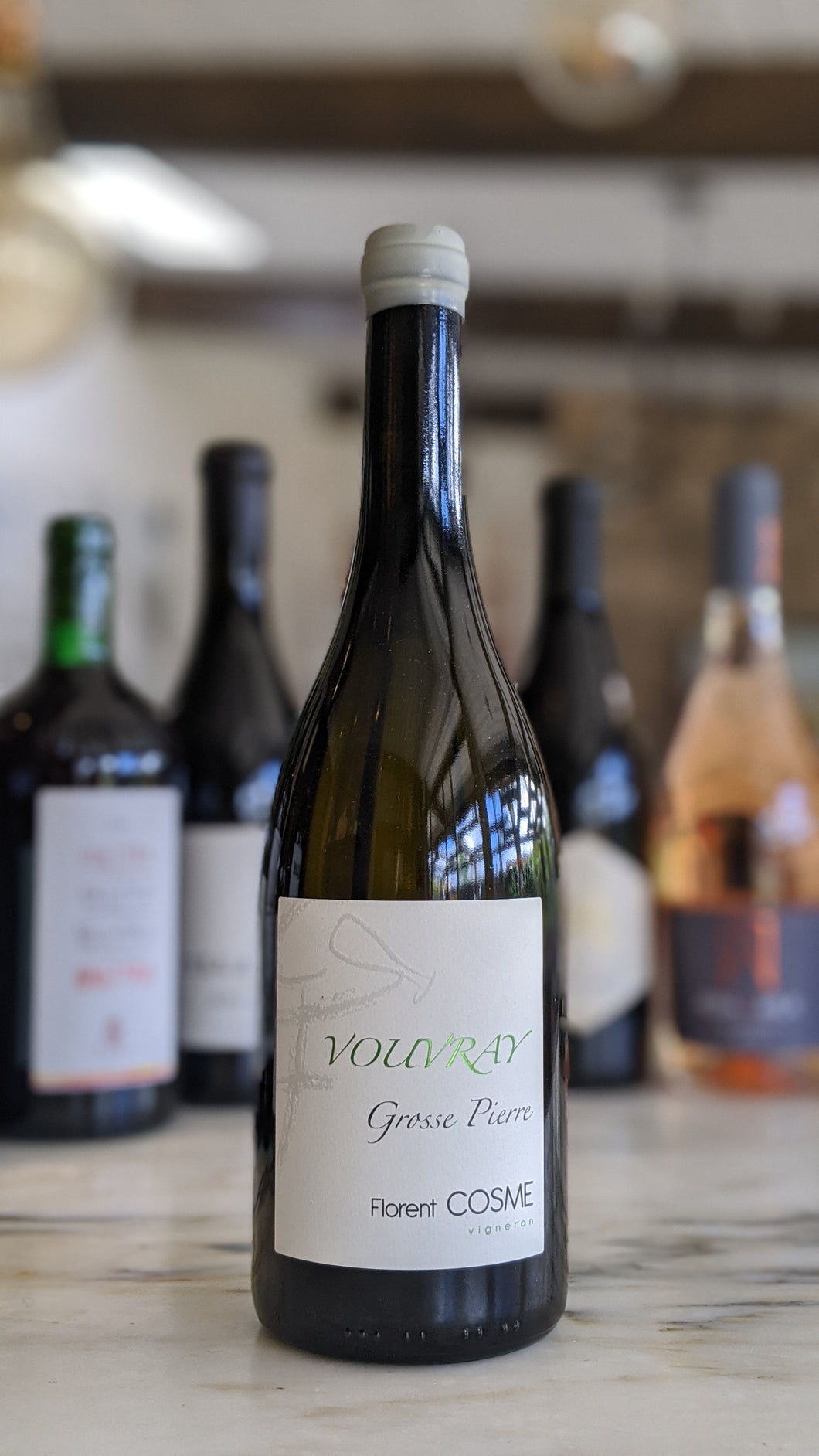 Florent Cosme -- 2018 Vouvray Sec Grosse Pierre -- Loire Valley, France
