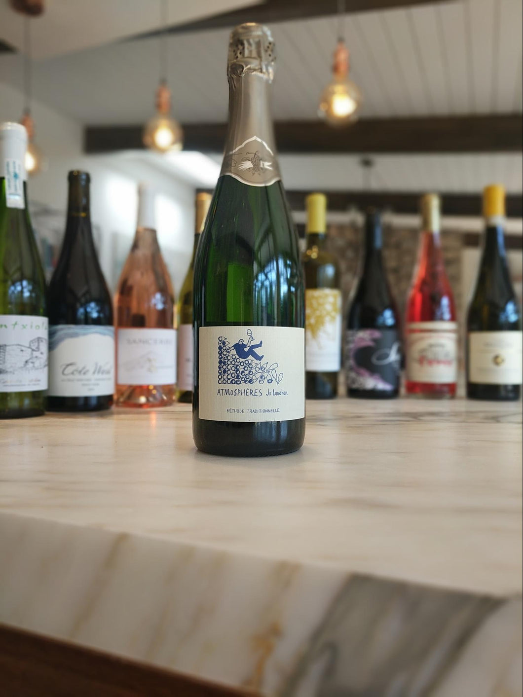 Jo Landron - NV 'Atmospheres' Sparkling White (Folle Blanche, Pinot Noir) - Loire Valley, France