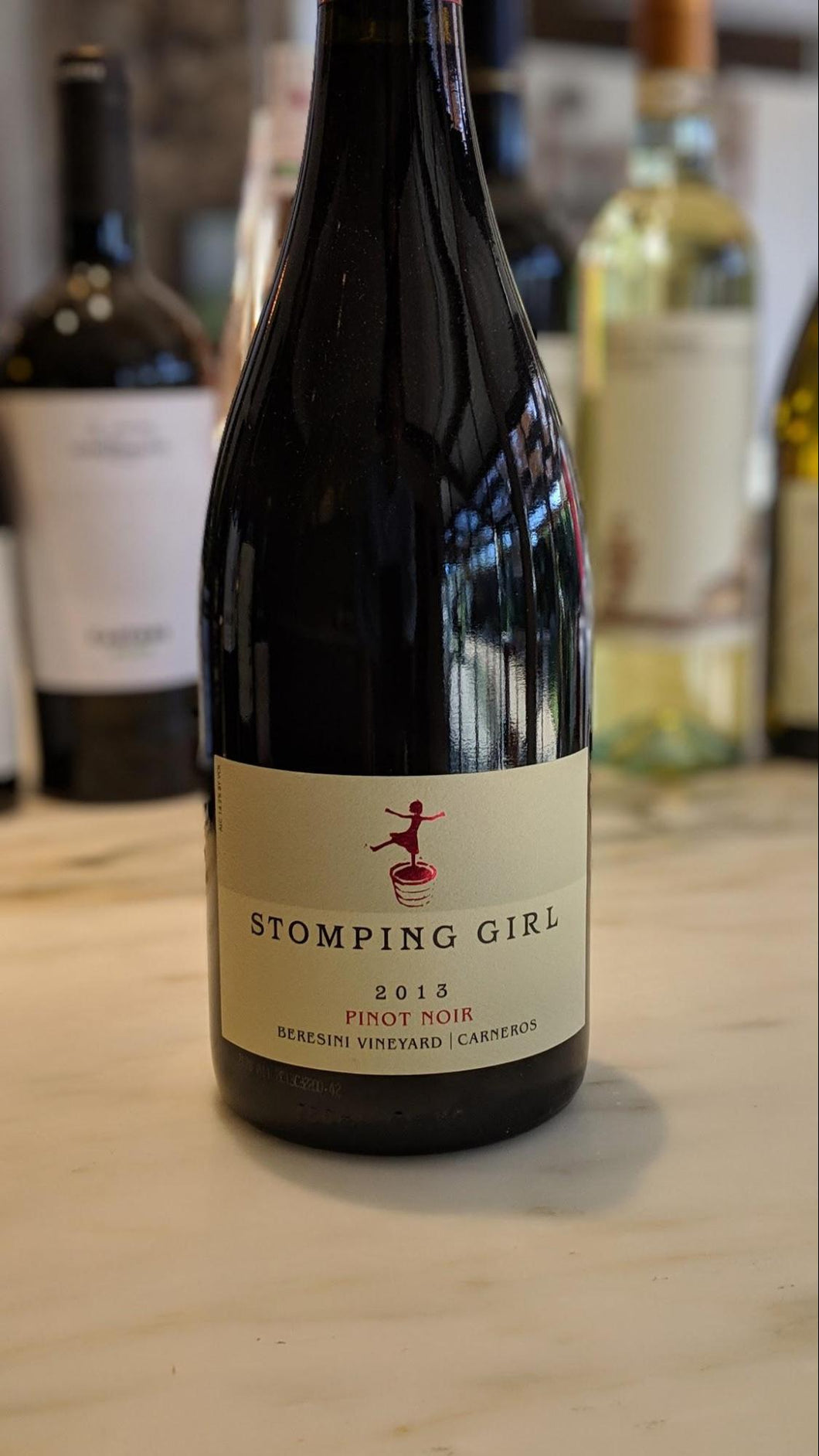 Stomping Girl - 2013 Pinot Noir, Beresini Vineyard - Carneros, Napa Valley, California
