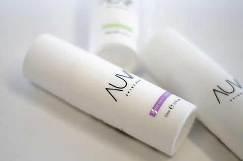 A set of AUVA 24H cream, AUVA Yooth Booster and AUVA Cleansing Milk