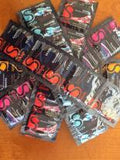 Mixed BeSafe® 64 Condoms (Bulk Pack) Student Discount with free AUVA  Lip balm