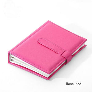 e2737941b Hot Sale Women Stud Earrings Collection Book PU Leather Earring Storage Box  Creative Jewelry Display Holder