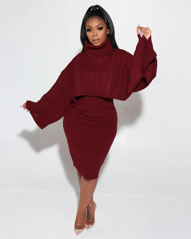 Sweater Weather Two Piece Set