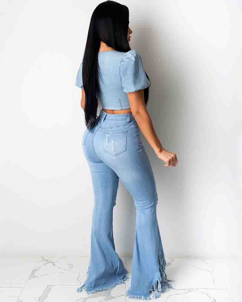 Tassel Bell-Bottoms