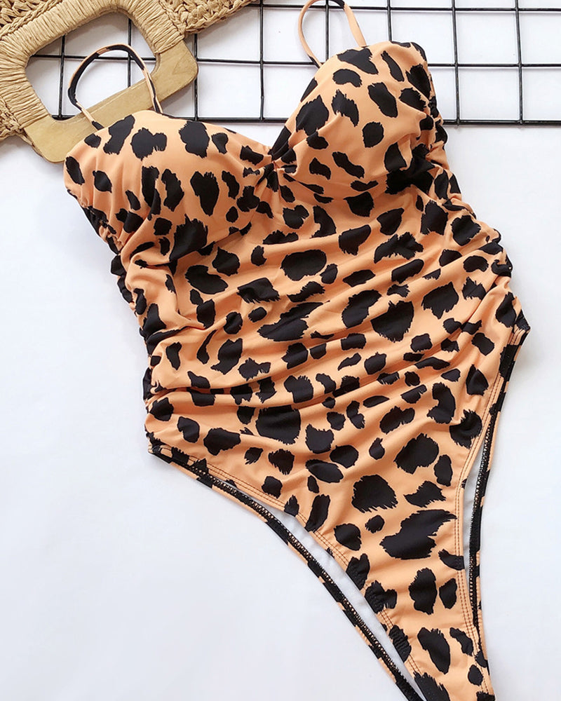 Wild Baby One Piece Swimsuit