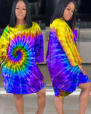 It's Been Sweet Tie Dye Dress