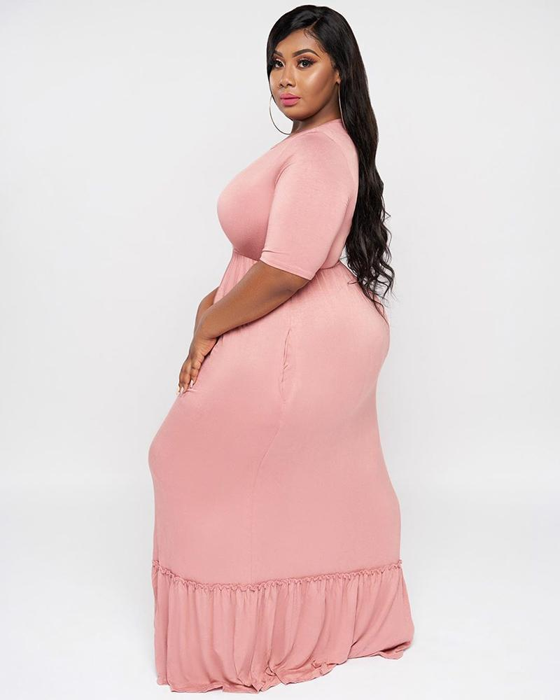 Only You Maxi Plus Size Dress - Girlsintrendy, Girls In Trendy