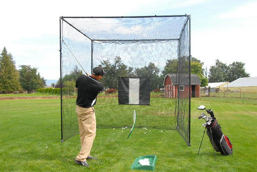 Mongo Golf Practice Cage (12' Tall, 14' Wide, 12' Deep)