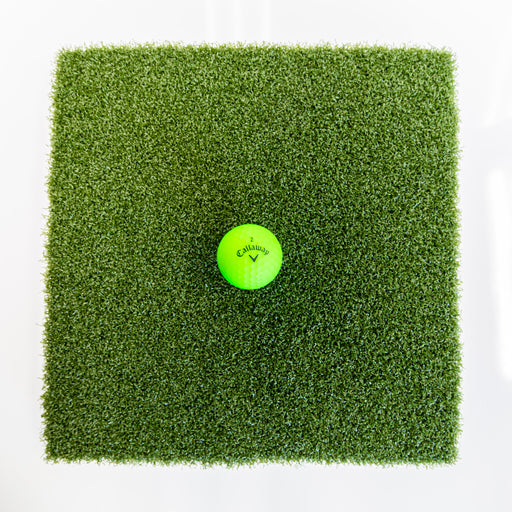 Detail of Commercial Nylon Golf Mat with Ball
