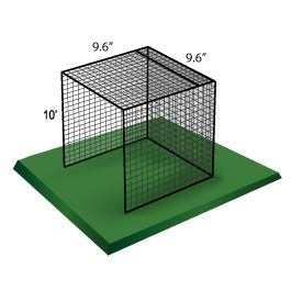 Standard Duty Golf Cage Net (10' x 10' x 10')