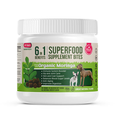 6 X 1 Multivitamin Superfood Supplement Chews