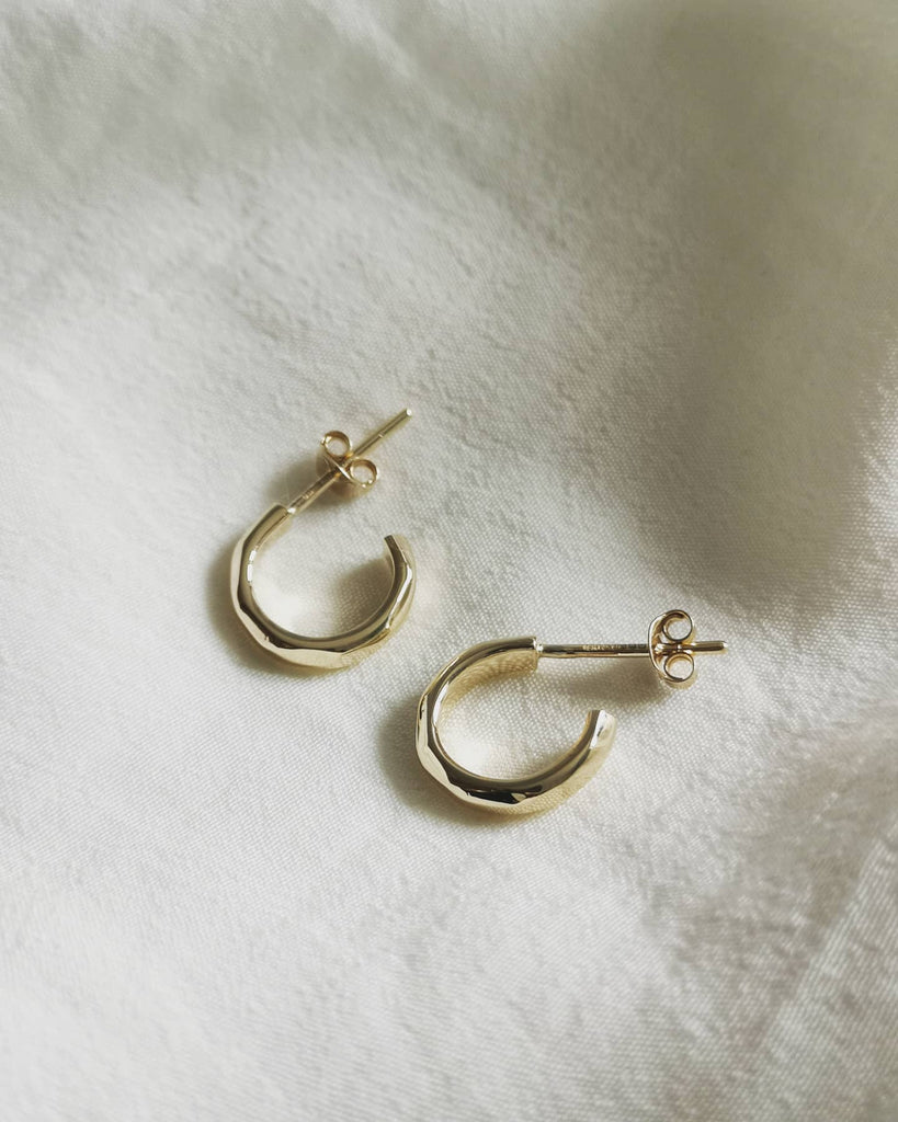 Ella Gold Hoop Earrings