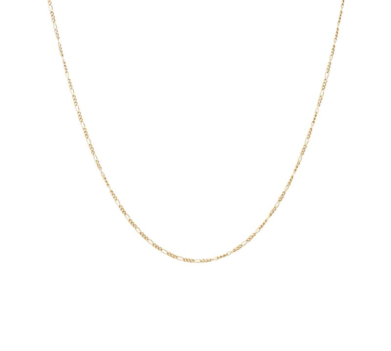 figaro gold chain, bedford jewellery, bedfordshire jewellery, bedford jewellery, jwllry by jade,