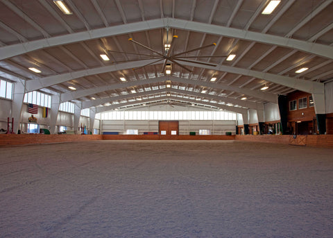 Indoor arena footing