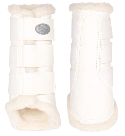 Dressage Support Boots White Tendon