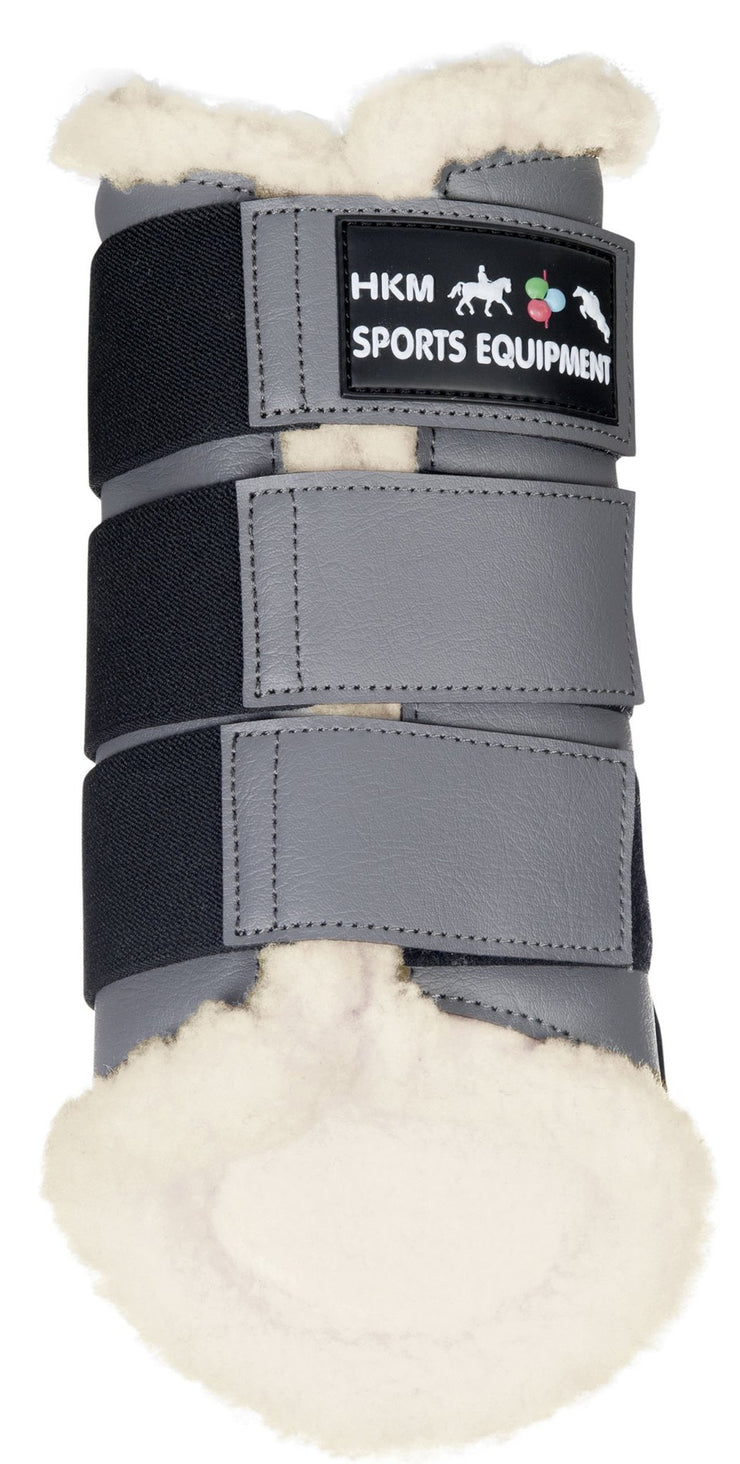 HKM Horse Boots Dressage in Grey