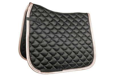 Copper Kiss Saddle Blanket - Black