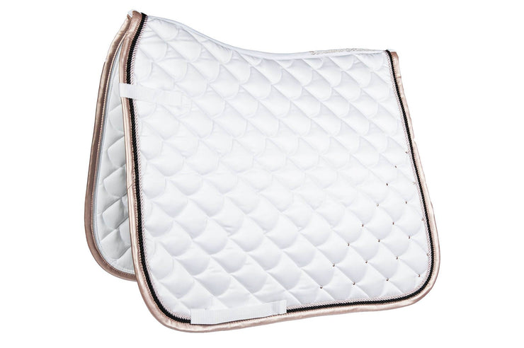 Copper Kiss Saddle Blanket - White