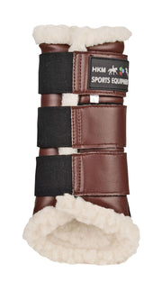 HKM Horse Boots Dressage in Brown