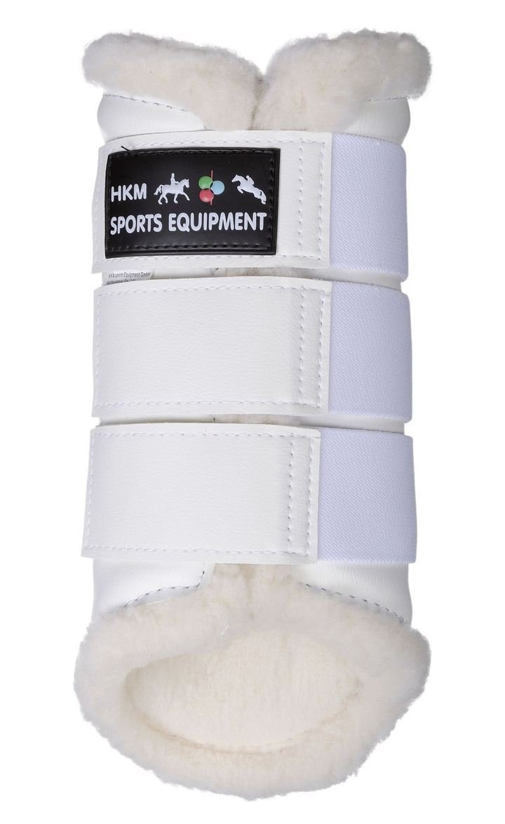 HKM Horse Boots Dressage in White