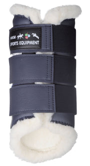 HKM Horse Boots Dressage in Navy Blue
