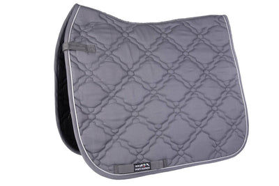 Quilted Saddle Pad - Gray