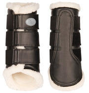 Dressage Support Boots Black Tendon