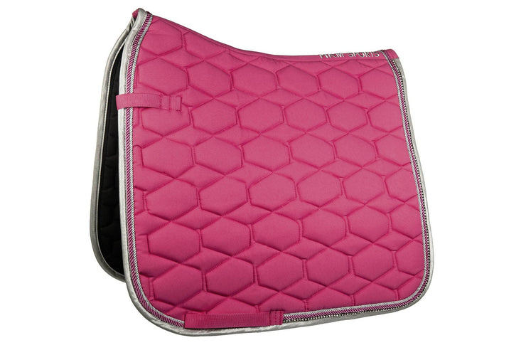 Crystal Saddle Pad - Pink